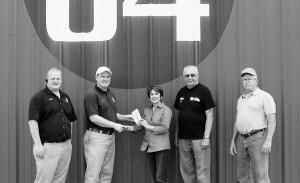 84 Lumber donation 2014